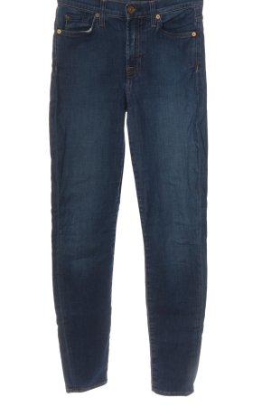 7 For All Mankind Jeans cigarette bleu style décontracté