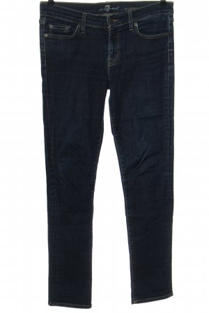 7 For All Mankind Jeans a sigaretta blu stile casual