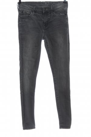 7 For All Mankind Tube Jeans light grey casual look