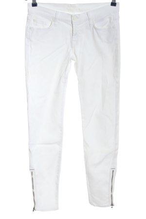 7 For All Mankind Vaquero pitillo blanco-color bronce look casual