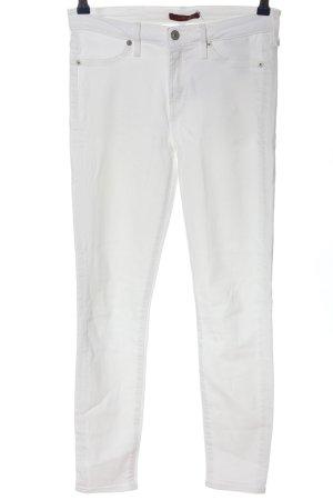 7 For All Mankind Jeansy rurki biały W stylu casual