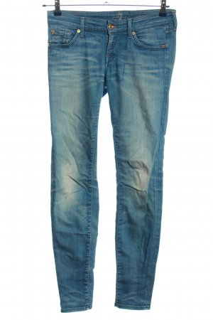 7 For All Mankind Jeansy rurki niebieski W stylu casual