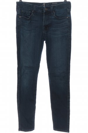 7 For All Mankind Tube jeans blauw casual uitstraling