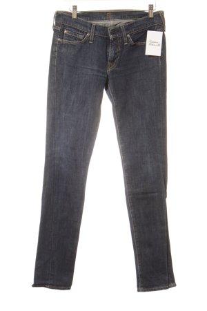 7 For All Mankind Röhrenjeans dunkelblau Jeans-Optik