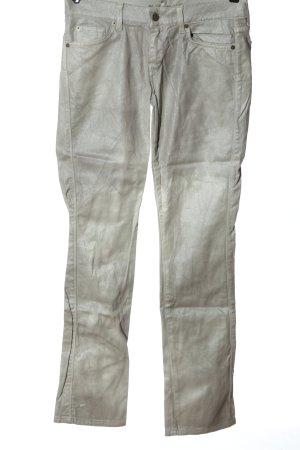 7 For All Mankind Jeans a sigaretta grigio chiaro stile casual