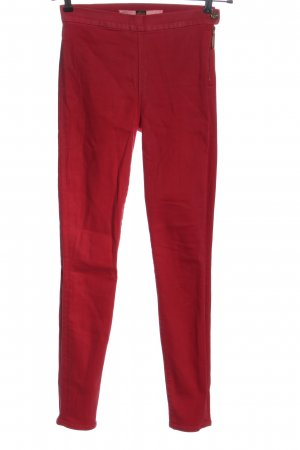 7 For All Mankind Tube Jeans red casual look
