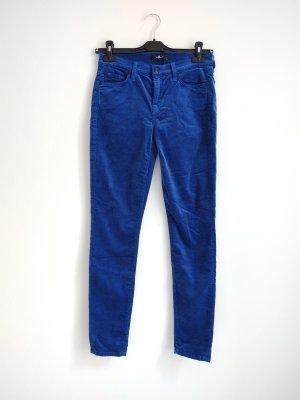 7 For All Mankind Pantalón de cinco bolsillos azul-azul neón