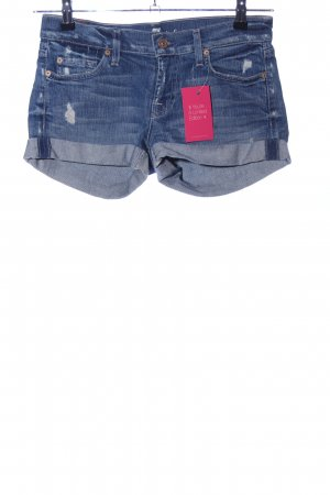 7 For All Mankind Shorts blau Casual-Look