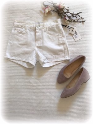 7 For All Mankind Short blanc