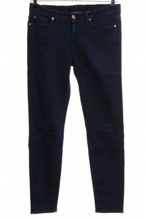 7 For All Mankind Skinny jeans blauw zakelijke stijl