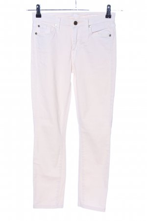 7 For All Mankind Skinny jeans wolwit casual uitstraling