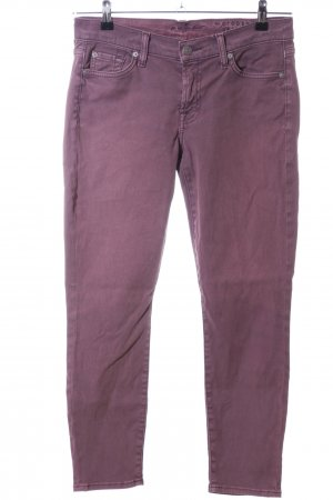 7 For All Mankind Skinny Jeans pink Casual-Look