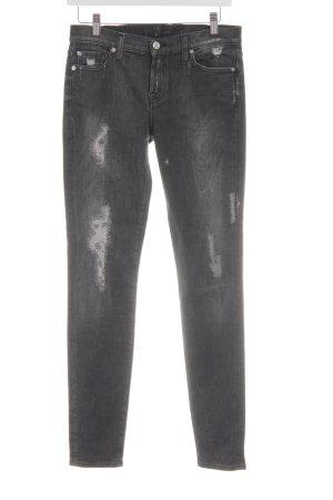 7 For All Mankind Skinny Jeans mehrfarbig Jeans-Optik
