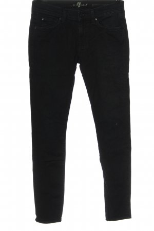 7 For All Mankind Jeans skinny nero stile casual