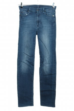 7 For All Mankind Jeans a vita alta blu stile casual
