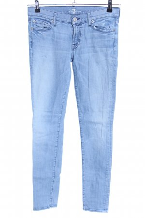 7 For All Mankind Jeansy o obcisłym kroju niebieski W stylu casual