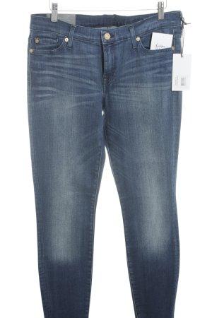 7 For All Mankind Skinny Jeans blau Jeans-Optik