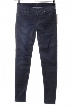 7 For All Mankind Skinny Jeans blau Business-Look