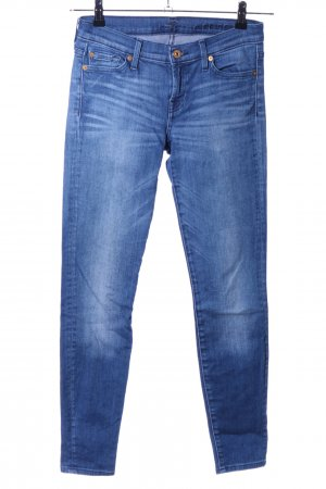 7 For All Mankind Jeans skinny bleu style décontracté