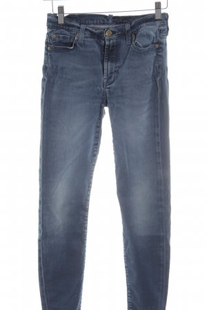 7 For All Mankind Skinny jeans blauw casual uitstraling