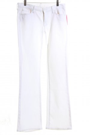 7 For All Mankind Skinny Jeans white casual look