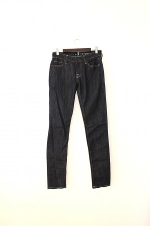 7 For All Mankind Jeans skinny bleu foncé