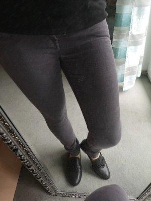 7 For All Mankind Pantalone a sigaretta grigio scuro