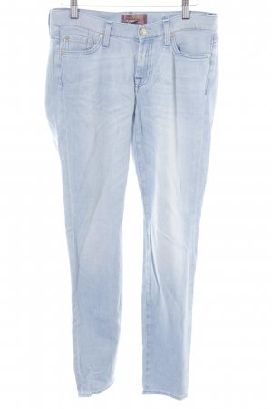 7 For All Mankind Jeans skinny bleu clair style décontracté