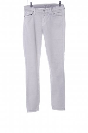 7 For All Mankind Skinny Jeans hellgrau Casual-Look