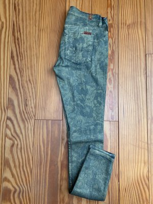 7 for all mankind Skinny Jeans Hose mit Muster