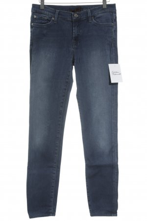 7 For All Mankind Jeans skinny bleuet style simple