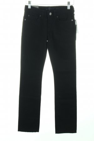 "7 For All Mankind Skinny Jeans ""roxanne"" schwarz"