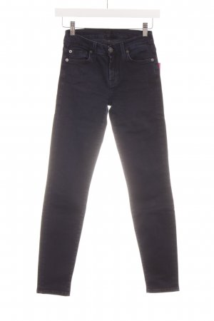 "7 For All Mankind Skinny Jeans ""The Skinny"" dunkelblau"