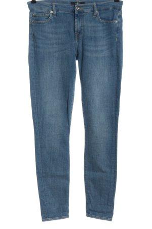 7 For All Mankind Dopasowane jeansy niebieski W stylu casual