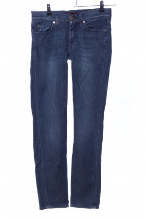 7 For All Mankind Slim jeans blauw casual uitstraling