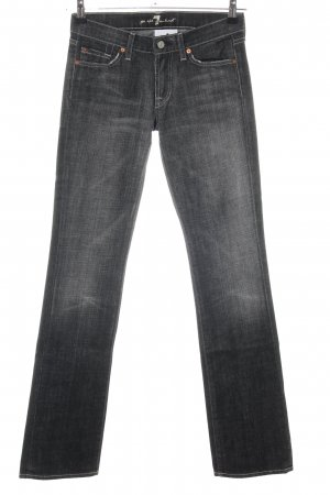 7 For All Mankind Slim jeans zwart casual uitstraling