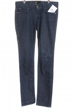 7 For All Mankind Jeans slim fit blu scuro stile casual