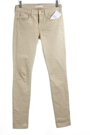 7 For All Mankind Slim Jeans goldfarben