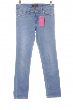 7 For All Mankind Slim Jeans azure mixture fibre