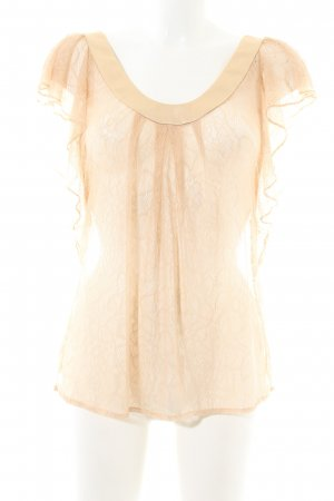 7 For All Mankind Lace Blouse cream casual look