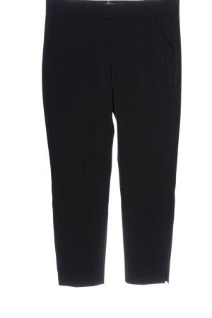 7 For All Mankind Pantalon en jersey noir style d'affaires