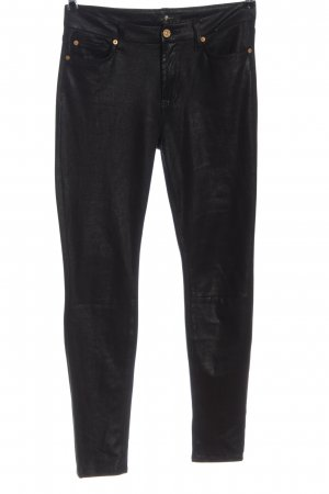 7 For All Mankind Pantalone jersey nero stile casual