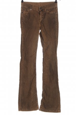 7 For All Mankind Jersey Pants brown casual look