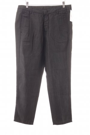 7 For All Mankind Stoffhose dunkelgrau Business-Look