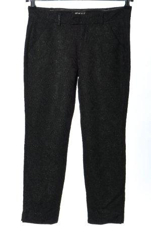 7 For All Mankind Pantalón tipo suéter negro elegante