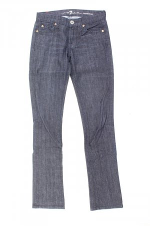7 For All Mankind Jeans a gamba dritta blu-blu neon-blu scuro-azzurro Cotone