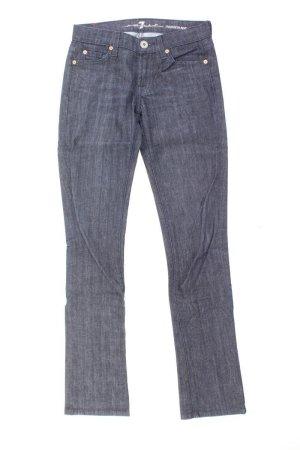 7 For All Mankind Jeans coupe-droite bleu-bleu fluo-bleu foncé-bleu azur coton