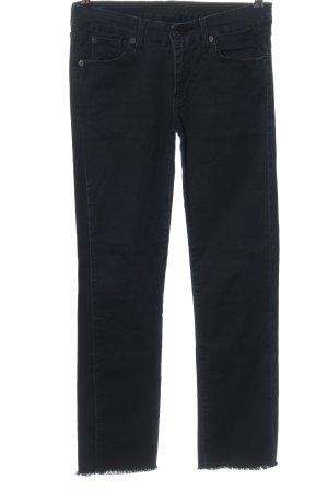 7 For All Mankind Jeansy z prostymi nogawkami czarny W stylu casual