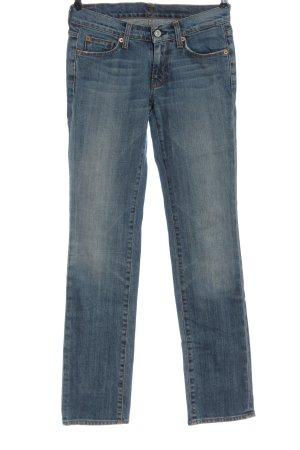 7 For All Mankind Jeansy z prostymi nogawkami niebieski W stylu casual