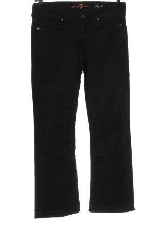 7 For All Mankind Jeans bootcut noir style décontracté